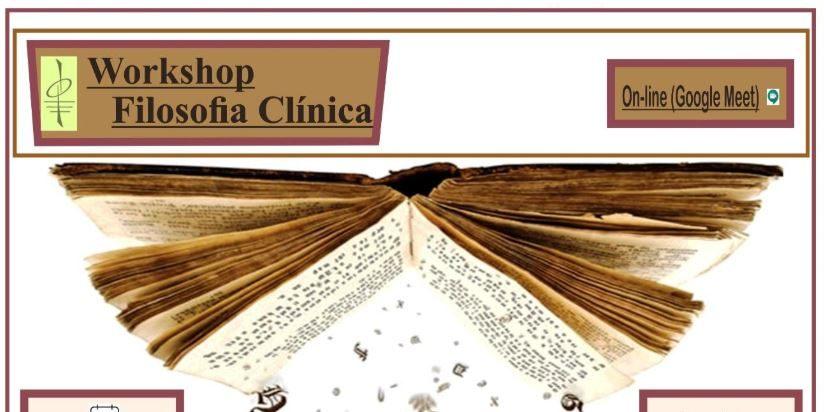 Workshop Filosofia Clínica com Filósofo Clínico Jamil D. Stefanuto